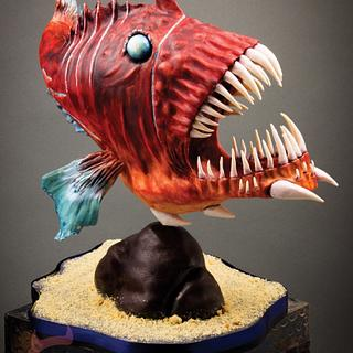 "3D Cake ""frogfish"""