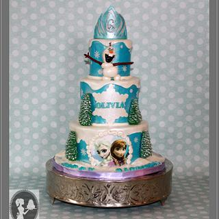 Queen Elsa cake - Cake by Not Your Ordinary Cakes