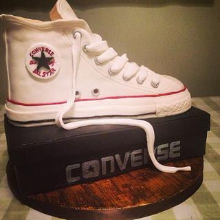 Converse Boot Cake