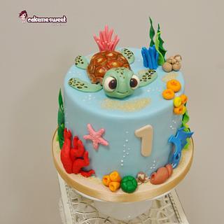 Finding nemo cake/2