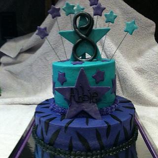 Elite Cheer Birthday - Cake by Dawn Henderson