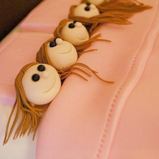 Slumber Party Cake! - Cake by Loren Ebert