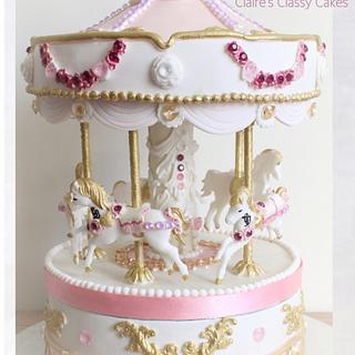 Claires classy carousel - Cake by Claire Lloyd, Claires Classy Cakes
