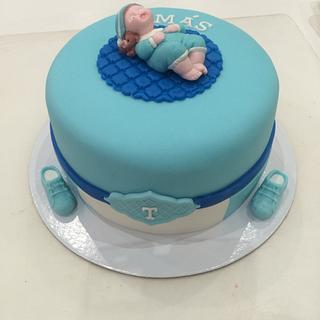 Shower Cake - Cake by ladygourmet