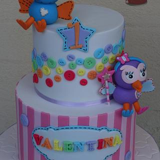 Hoot and Hootabelle - Cake by Jaymie