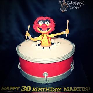 Animal Muppet Show Cake - Cake by Agatha Rogowska ( Cakefield Avenue)