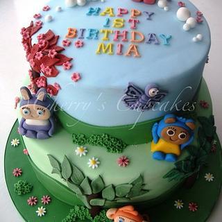 Waybuloo Birthday Cake - Cake by Cherry's Cupcakes