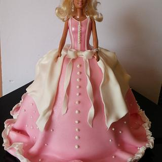 Barbie Doll cake - Cake by Eva Christina Cakes
