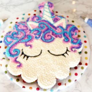 UNICORN PULL-APART CUPCAKE CAKE!