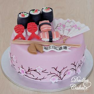 Sushi cake - Cake by Dadka Cakes