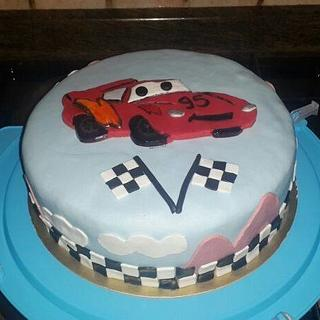 Cars cake - Cake by Unsubscribe