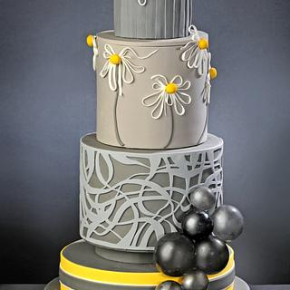 Modern Cake for American Cake Decorating Trend issue