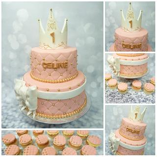 prinsessen cake - Cake by a little cake house