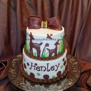 Willow Bedding Baby Shower Cake