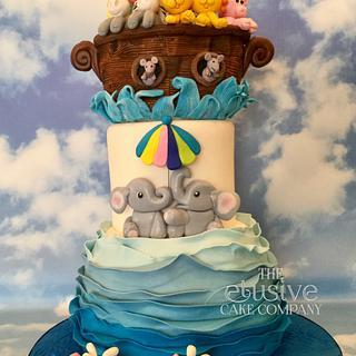 Noah's Ark - Cake by The Elusive Cake Company