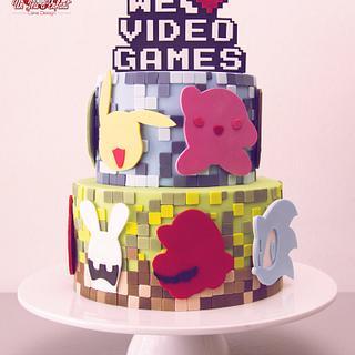 We <3 VideoGames  - Cake by CAKE RÉVOL
