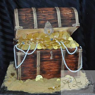 Treasure Chest Birthday Cake - Cake by Leo Sciancalepore