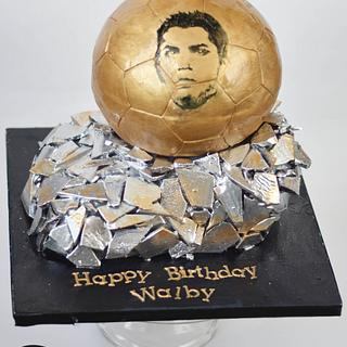 Ballon D'Or Cake  - Cake by Sahar Latheef