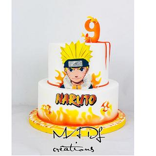 Surprising Naruto Cake 20 Cakes Cakesdecor Personalised Birthday Cards Sponlily Jamesorg