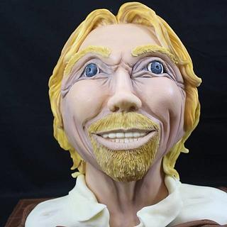 Richard Branson bust