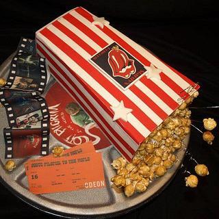 Popcorn Cinema cake
