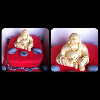 Buddha cake.