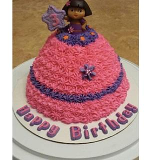 Dora Explorer Birthday Cake