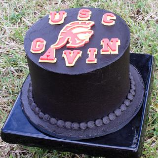 USC - Cake by Anchored in Cake