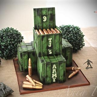 Ammo cases - Cake by RED POLKA DOT DESIGNS (was GMSSC)
