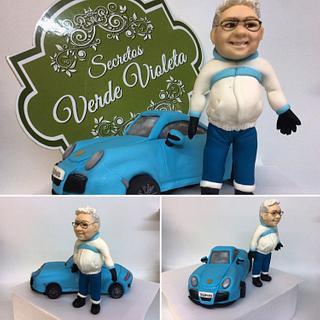Al mejor conductor del mundo - Cake by secretos verde violeta