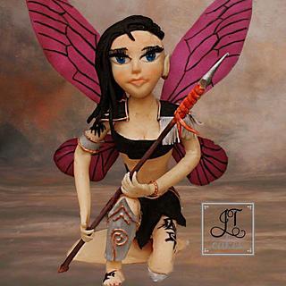 Away with the fairies - Gaia the warrior fairy