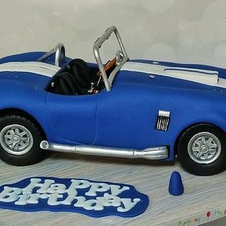 Cobra car cake - Cake by Bonnie Bakes UAE