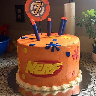 Nerf Cake - Cake by Julie