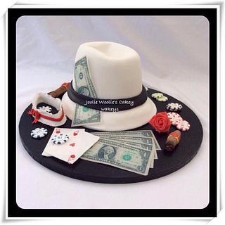 Gangsta and moll cake