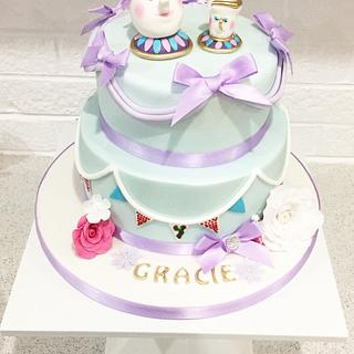 Mrs Potts  - Cake by Kayleigh's cake boutique
