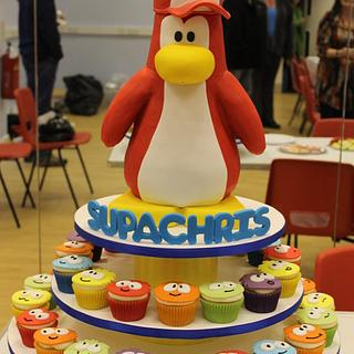 Disney's Club Penguin - Cake by Delights by Design