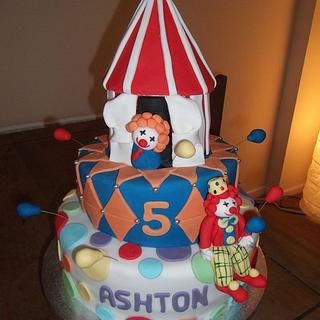 Circus themed cake - Cake by Claire