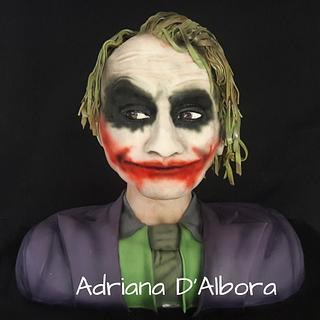 3D Joker Cake