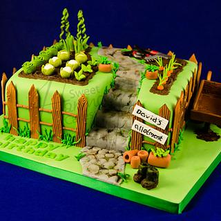 Allotment cake - Cake by Sweet Harmony Cakes