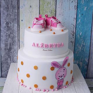 Bunny - Christening Cake