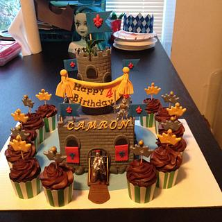 Medieval Birthday cake for Icing Smiles