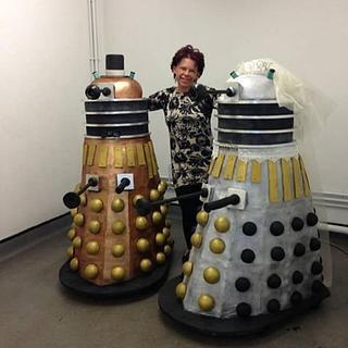 Life Size Dalek cakes