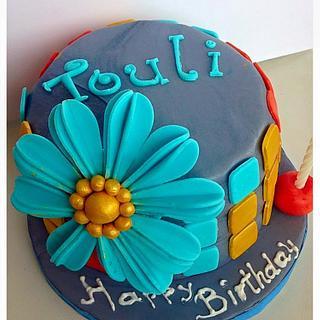 Birthday Cake - Cake by Dimitra Mylona - Sweet Zoe Cakes