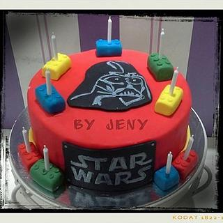 Star Wars vs Lego ~ Master of Evil - Cake by Jeny Dogani