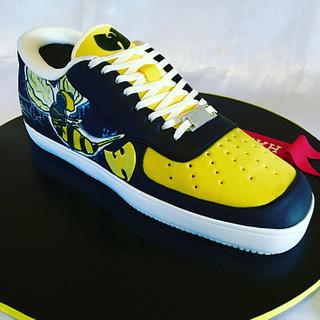 3D shoe cake