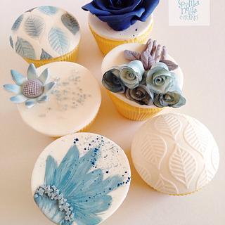 Winter Elegance Cupcakes - Cake by Sophia Mya Cupcakes (Nanvah Nina Michael)