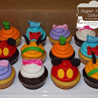 Mickey & Friends Cupcakes