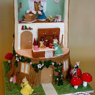 """Brambly Hedge Stories"" cake"