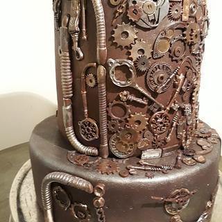 Steam punk cake