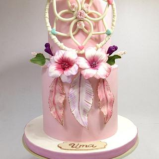 Bohochic cake